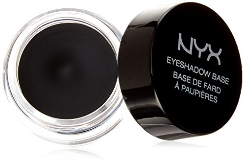 NYX PROFESSIONAL MAKEUP Eyeshadow Base, Black, 0.25 Ounce