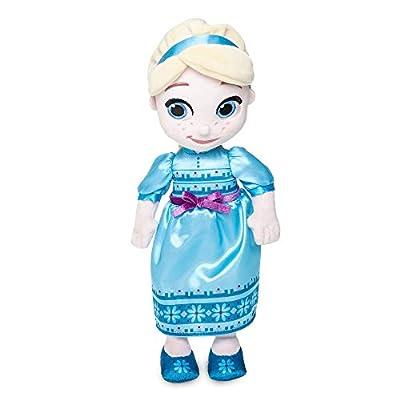 Disney Animators' Collection Elsa Plush Doll – Small – 12 Inch: Toys & Games
