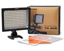 Yongnuo Pro LED Video / Studio Light YN-160s, LED Panel for Canon, Nikon, Sony, Panasonic, Samsung Camcorder or Digital SLR Cameras