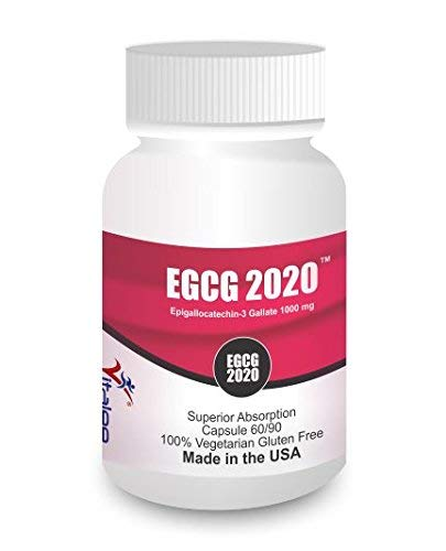 EGCG- 1000 mg Green Tea Ext Capsule (60 - 60 Capsules Egcg