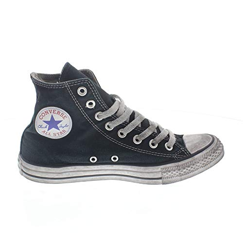 Unisex In Nuova 2018 Colore Tela Sneakers Nero Nero Estate Star Smoke Ltd Taylor Hi BLACK Converse Chuck Ltd Collezione All 156886C Primavera 8p5SSqR