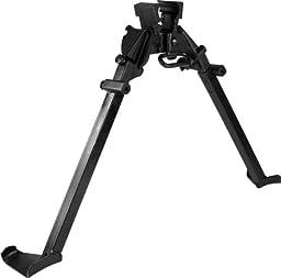 Aim Sports M1 Garand Steel Bipod, Medium, Black