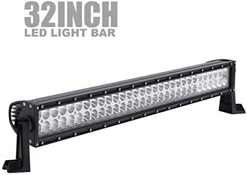 Terrain Vision Dot 32 Inch 180w Led Light Bar Spot Flood