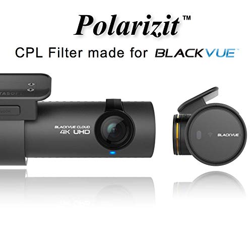 BlackVue CPL Polarized Lens Filter Polarizit Dashboard Glare Flash Remover for Models DR900S DR900 1CH 2CH 16GB 32GB 64GB 128GB Dashcam Dash Camera Car Recorder 4K UHD Review