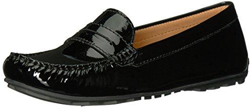 Sebago Women's Harper Penny Loafer,Black Patent,7 B (Patent Penny Loafer)