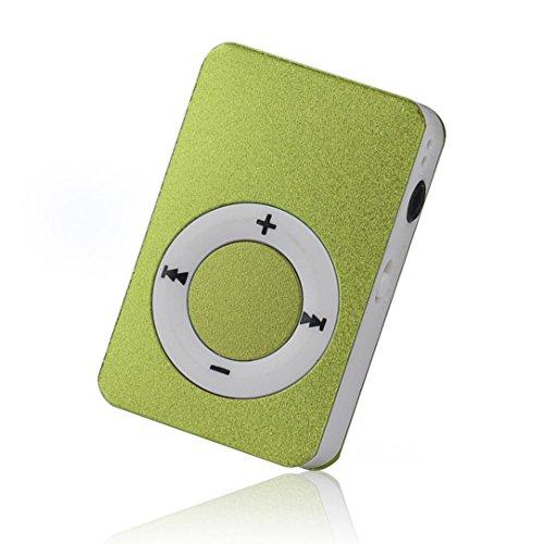 Start Mp3 Player Mini USB Digital Mp3 Music Player Support SD TF Card -Green