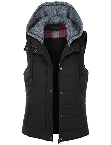 Quilted Sleeveless Vest - 6