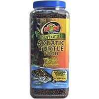 Zoo Med Natural Aquatic Turtle Food, Hatchling Formula, 15-Ounce