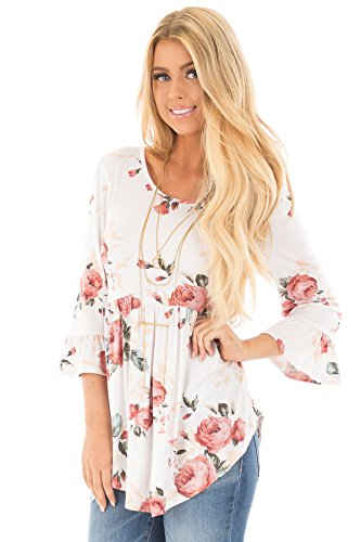 Blooming Jelly Womens Sleeve Flattering