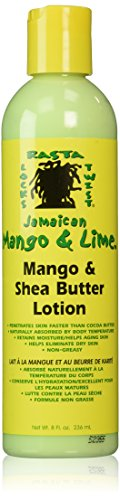Jamaican Mango and Lime Mango Shea Butter Lotion, 8 Ounce Mango Shea Butter Lotion