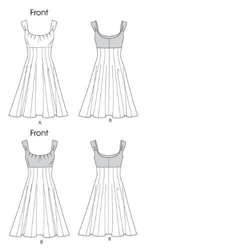 Robe jeune femme: - modèle C5 (10-12 - 14 - 16 - 18)