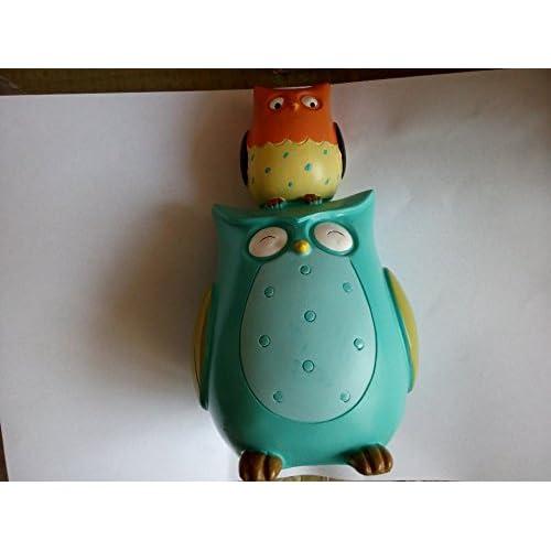 Cute Owl Money Box Nursery Decoration Accessories