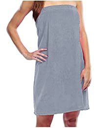 Terry Women's Wrap, Pure Cotton Cover Up for Ladies