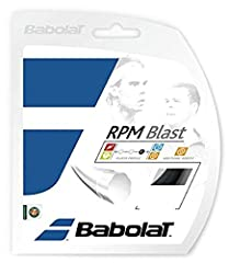 The Babolat RPM Blast 16 is the string of choice for Rafael Nadal, and Jo-Wilfreid Tsonga. This string shares the same basic construction and co-polyester composition as the popular Babolat Pro Hurricane Tour, with a few minor tweaks. The RPM...