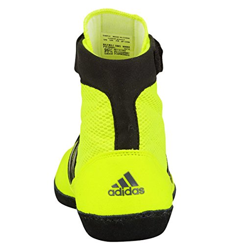 Adidas Kampf Geschwindigkeit 4 Youth Wrestling Schuhe Bahia Blau / lime Grö�e 1.5 Yellow,Black