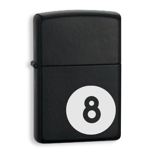 ZIPPO 8-Ball Licorice Zippo Lighter 8 BALL