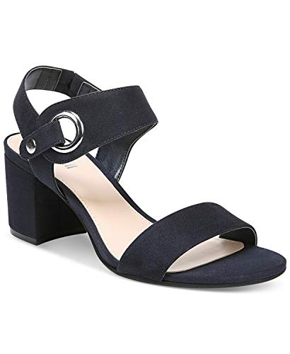 Bar III Womens Birdie2 Open Toe Casual Ankle Strap Sandals, Navy, Size 9.0 from Bar III