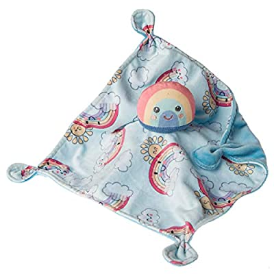 Mary Meyer Soothie Security Blanket, 10 x 10-inches, Sweet Rainbow: Baby