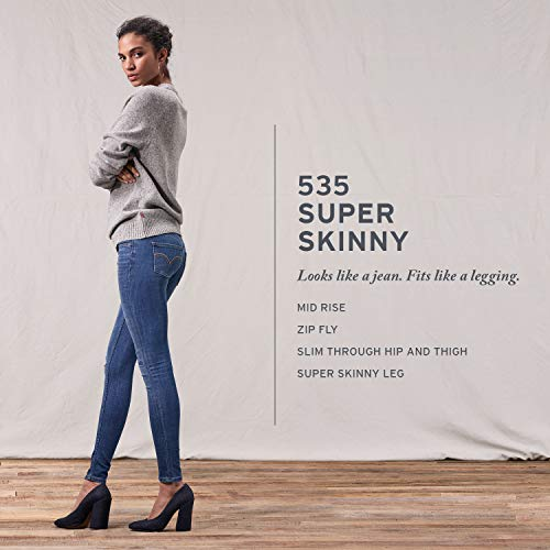 Mid Slim blu e Super 0275 Sage Levi's Stretch Sebbene Lane Femme Denim 535 Style Hip Thigh Rise Skinny Ultra wnx7RnW84q