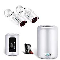 POEカメラ 200万 ZOOHI 防犯カメラキット H.264+ モーション検知録画 監視カメラ ネットワークカメラ 1080P 暗視撮影 POE給電カメラ 動体検知 防水カメラ 無料アプリ CCTVセキュリティカメラシステム カメラ増設 遠隔監視対応