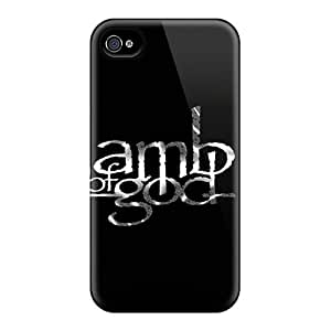 Marycase88 Iphone 4/4s Protective Hard Cell-phone Cases Support Personal Customs Nice Lamb Of God Pictures [QSX2782dHOg]