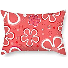Beautifulseason Flower Pillowcase ,best For Bedroom,him,car,christmas,monther,teens Girls 12 X 20 Inches / 30 By 50 Cm(twin Sides)