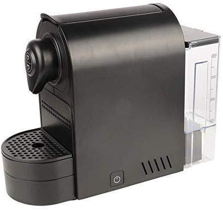 COOLSHOPY Máquina de café, hogar Cafetera, Portátil Negro cápsula de café de la máquina de Espresso café, for el hogar…