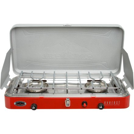 Camp Chef Mountain Series 2 Burner/High Pressure Stove, Outdoor Stuffs