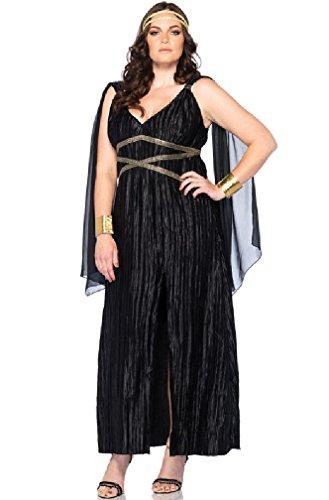 8eighteen Dark Greek Goddess Plus Size Halloween Costume (Greek Goddess Plus Size Costume)