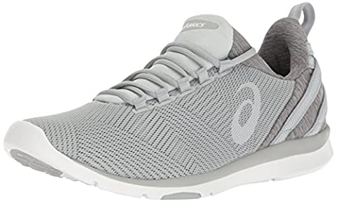 ASICS Women's Gel-Fit Sana 3 Cross-Trainer Shoe, Mid Grey/White/Glacier Grey, 7 M US - Grey Sports Shoes