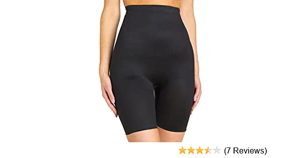 13a0c3e29f4 TC Fine Intimates Women s Plus Size Even More Triple-ply Midriff Hi-Waist  Thigh Slimmer 499 at Amazon Women s Clothing store