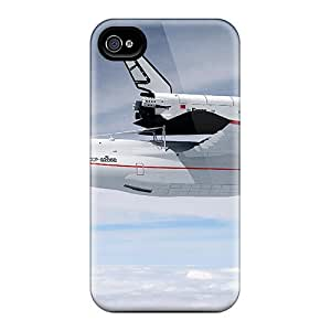 Top Quality Protection Space Shuttle Case Cover For Iphone 4/4s
