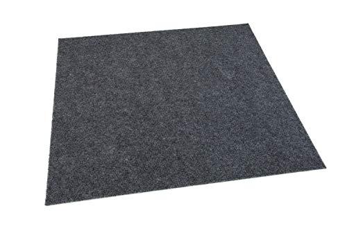 - Ribbed Carpet Tiles Residential Flooring Self Adhering 18