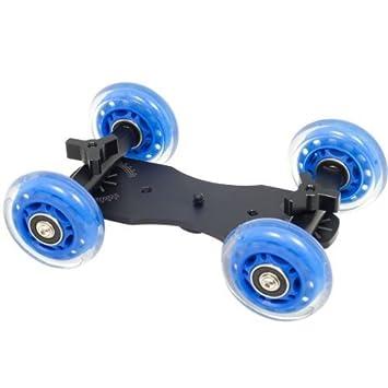 Flex Skater Mini coche Slider Skater Rueda Pista con ruedas sistema de estabilización estabilizador de vídeo