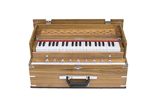Maharaja Musicals, Kirtan Harmonium, Classic Edition, Natural Color, Model KH1 by Maharaja Musicals