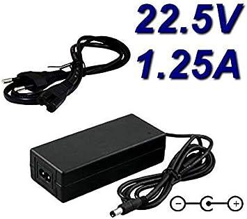CARGADOR ESP ® Cargador Corriente 22.5V 1.25A Reemplazo ...