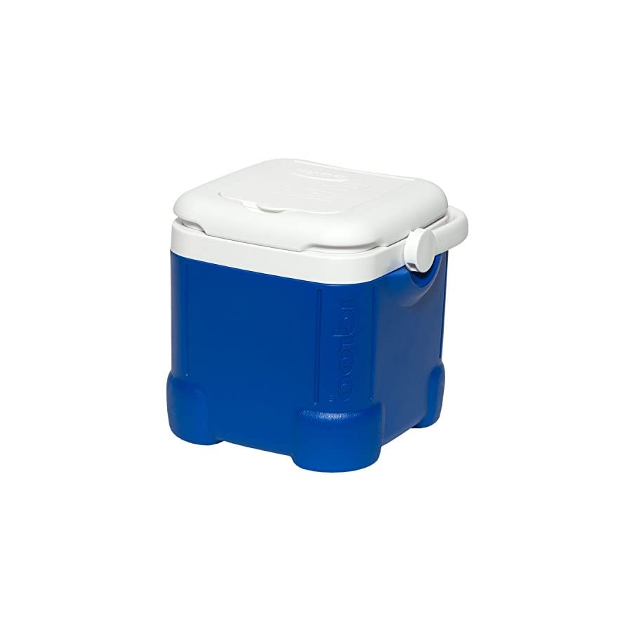 Igloo Ice Cube Cooler (14 Can Capacity, Ocean Blue)