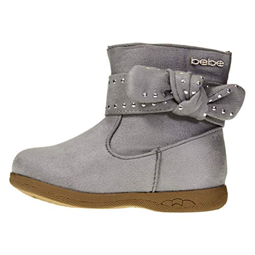 Pictures of bebe Toddler Girls Microsuede Boots Size 7 1