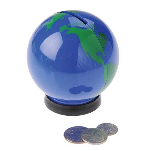 Earth Globe Mini Saving Piggy Banks (12)