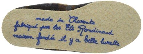 Rondinaud Casteras - Tacón bajo Hombre Bleu (12 Marine)