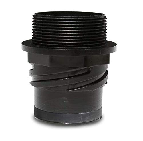 Mytee H135 Cuff Lynx 2 inches Male Starter Vac Hose x 2 inches Male Pipe Thread ()