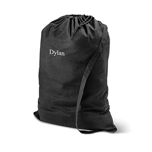 Personalized Laundry Bag - Monogrammed Laundry Bag - Black Bag