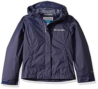 Columbia Girls 1580631 ArcadiaTM Jacket Rain Jacket - Blue - XX-Small