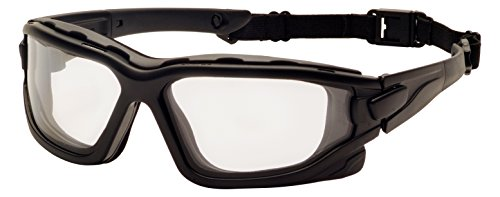 Pyramex I-Force Sporty Dual Pane  Anti-Fog Goggle, Black Frame/Clear Anti-Fog - I Sunglasses Usa