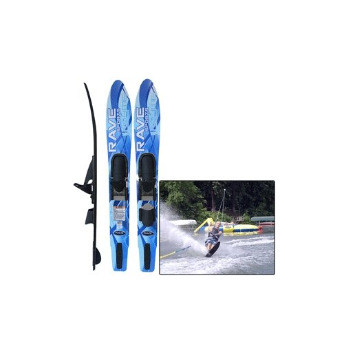 RAVE SPORTS 02398 / Rave Adult Rhyme Shaped Combo Water Skis
