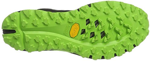 Scarpe Da Corsa Da Trail Running Da Uomo Dynafit Mens, Asfalto 1, Grande Nero (nero / Verde Fluo)