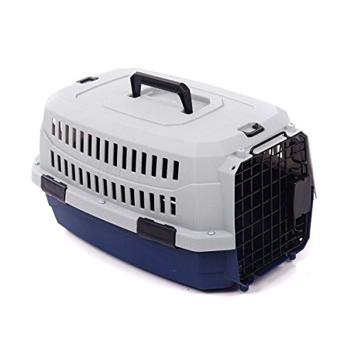 Favorite Portable Airline Approved Car Travel Vet Visit Dog Crate Pet (Air Travel Carrying Crate)