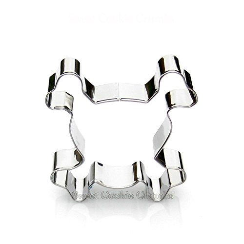 Skull Cookie Cutter- Stainless (Scary Halloween Decorations Ideas Homemade)