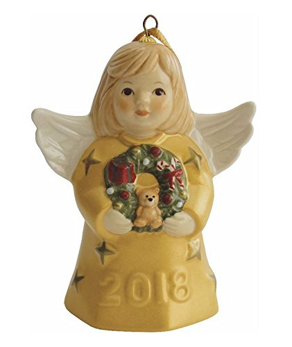 Annual Bell - 2018 Goebel Annual Angel Bell - Gold - 43rd Edition