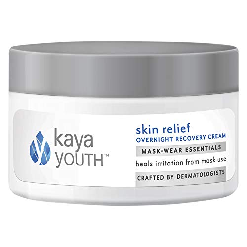 Kaya Youth Skin Relief Overnight Recovery Cream|Soothes Irritation From Face Masks|Helps Recovery From Rashes & Redness|Developed By Dermatologists, 60 g